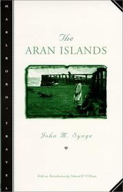 Cover of: The Aran Islands by J. M. Synge