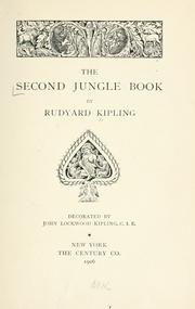 Cover of: The  second jungle book by Rudyard Kipling