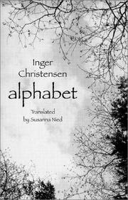 Cover of: Alfabet by Inger Christensen