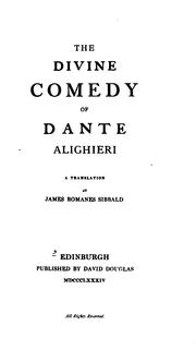 Cover of: The Inferno by Dante Alighieri