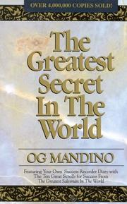 Cover of: The Greatest Secret in the World by Og Mandino