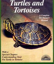 Cover of: Turtles and tortoises by Richard D. Bartlett