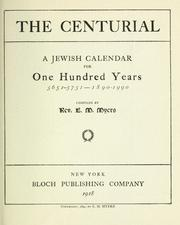 Cover of: The centurial by E. M. Myers