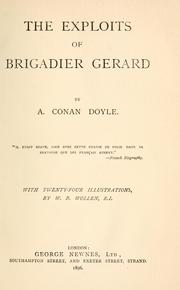 Cover of: The Exploits of Brigadier Gerard by Sir Arthur Conan Doyle