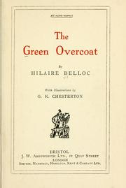 Cover of: The green overcoat by Hilaire Belloc