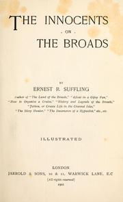 Cover of: The innocents on the Broads by Ernest R. Suffling