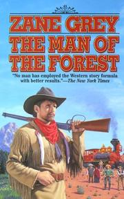Cover of: The Man of the Forest by Zane Grey