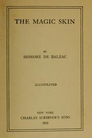 Cover of: Peau de chagrin by Honoré de Balzac