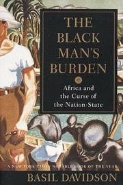 Cover of: The Black man&#39;s burden by Basil Davidson