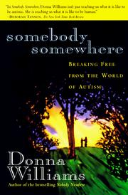 Cover of: Somebody somewhere by Donna Williams