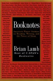 Cover of: Booknotes by Brian Lamb