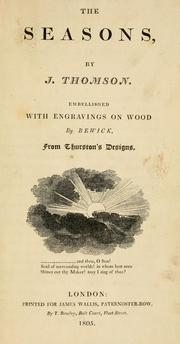 Cover of: The seasons by Thomson, James