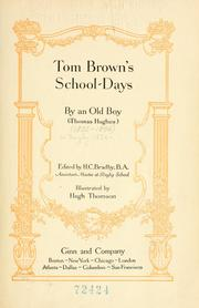 Cover of: Tom Brown&#39;s school days by Hughes, Thomas