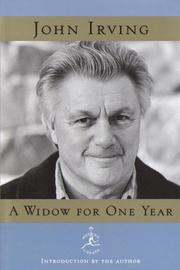 Cover of: A widow for one year by John Irving