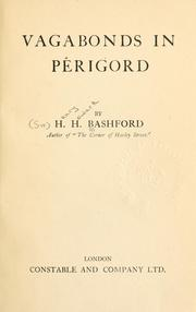 Cover of: Vagabonds in Perigord by Sir Henry Howarth Bashford