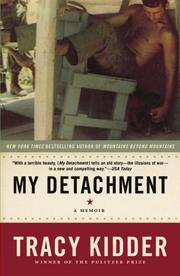 Cover of: My Detachment by Tracy Kidder