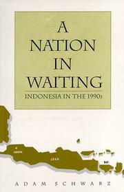 Cover of: A nation in waiting by Adam Schwarz