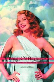 Cover of: Being Rita Hayworth by Adrienne L. McLean