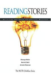 Cover of: Reading stories by Bronwyn Mellor