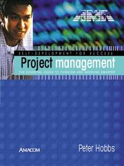 Cover of: Project Management by Peter Hobbs