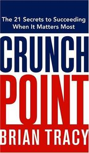 Cover of: Crunch Point by Brian Tracy