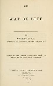 Cover of: The way of life by Christoph Ernst Luthardt