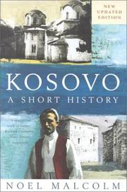 Cover of: Kosovo by Noel Malcolm