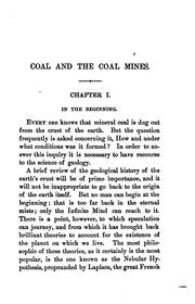 Cover of: Coal and the coal mines by Homer Greene
