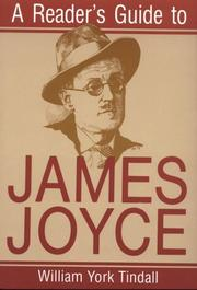 Cover of: A reader's guide to James Joyce by William York Tindall