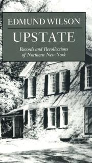 Cover of: Upstate by Edmund Wilson