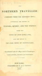 Cover of: The northern traveller by Dwight, Theodore