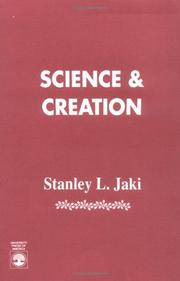 Cover of: Science and creation by Stanley L. Jaki