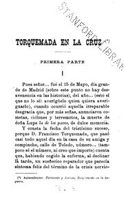 Cover of: Torquemada en la cruz by Benito Pérez Galdós