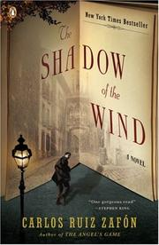Cover of: The Shadow of the Wind by Carlos Ruiz Zafon