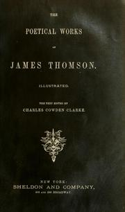 Cover of: Poems by Thomson, James