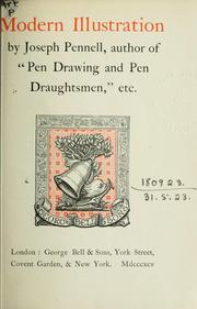 Cover of: Modern illustration by Joseph Pennell