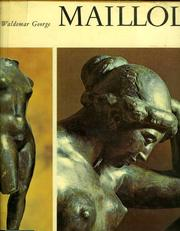 Cover of: Aristide Maillol by Waldemar George