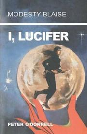 Cover of: I, Lucifer by Peter O'Donnell