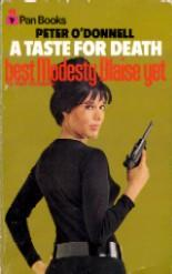 Cover of: A Taste for Death by Peter O'Donnell