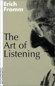 Cover of: The art of listening by Erich Fromm