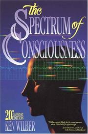 Cover of: The spectrum of consciousness by Ken Wilber
