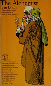 Cover of: The alchemist by Ben Jonson