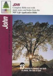 Cover of: John (Life Application Bible Studies (NIV)) by Tyndale