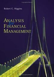 Cover of: Analysis for financial management by Robert C. Higgins