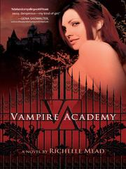 Cover of: Vampire Academy by Richelle Mead