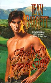 Cover of: Archer's Crossing by Jean Barrett