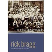 Cover of: The Most They Ever Had by Rick Bragg