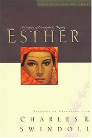 Cover of: Esther by Charles R. Swindoll