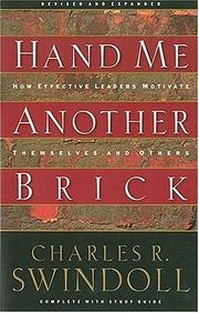 Cover of: Hand me another brick by Charles R. Swindoll
