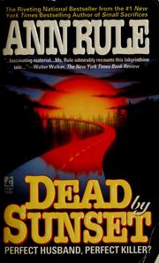 Cover of: Dead by Sunset by Ann Rule